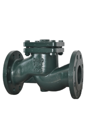 Flange type lifting check valve