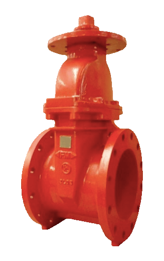 Resilient Seated NRS Type-Flanged Ends Gate Valve