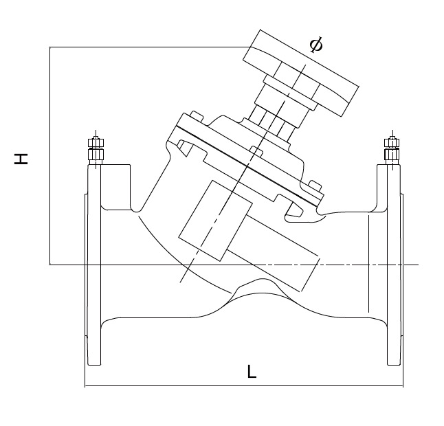 Variable Orifice Double Regulating Valve